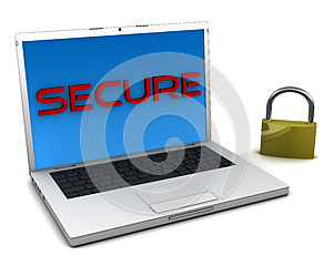 Secure Notebook Royalty Free Stock Image - Image: 9986336