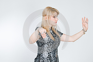 Blond Woman Exercising Stock Photography - Image: 9986402