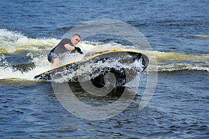 Young Man Riding Jet Ski Royalty Free Stock Images - Image: 9986549