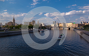 Bridge Over River Moskva In Moscow Stock Photos - Image: 9986633