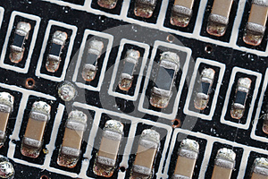 Microcircuit Board. Royalty Free Stock Photography - Image: 9987187