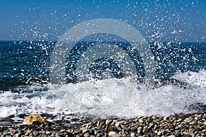 Sea Splashes Stock Photo - Image: 9991770