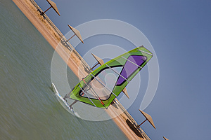 Windsurfing Stock Image - Image: 9992371