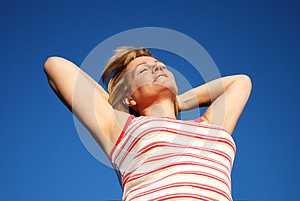 Basking In The Sun Royalty Free Stock Image - Image: 9993346