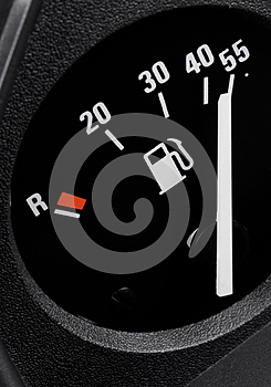 Fuel Gauge Royalty Free Stock Image - Image: 9995906