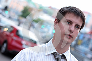 Young Clerk Royalty Free Stock Photo - Image: 9996205
